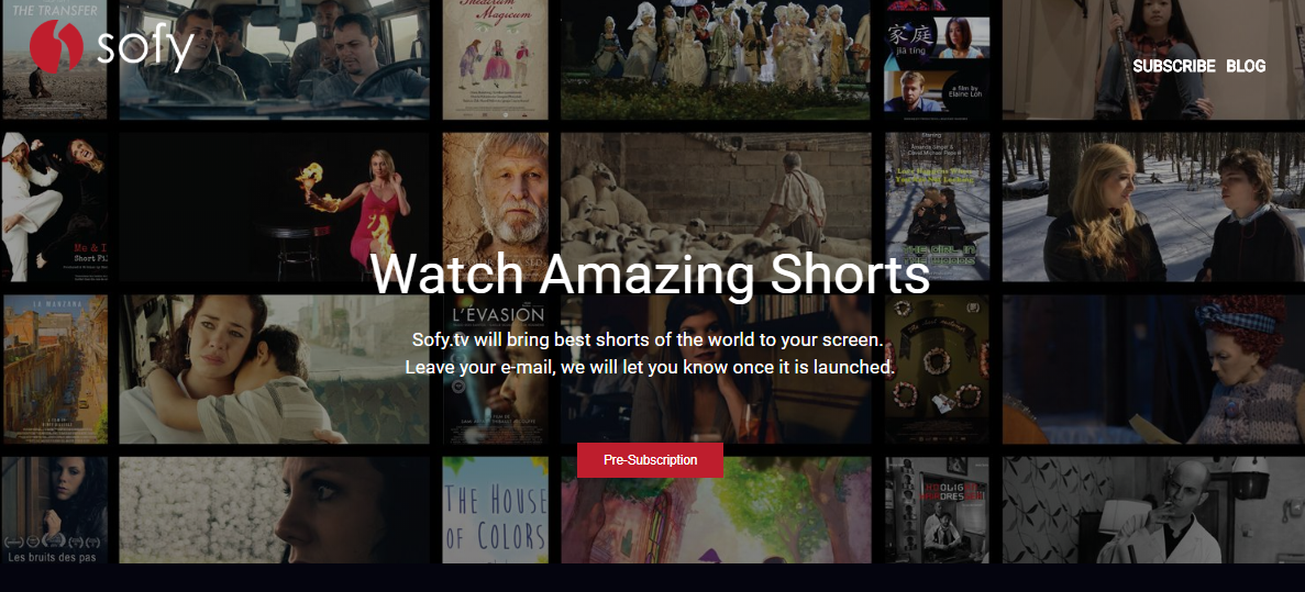 What's New On Sofy.tv : The World's Best Short Film Platform