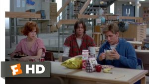 breakfast club movie food scenes